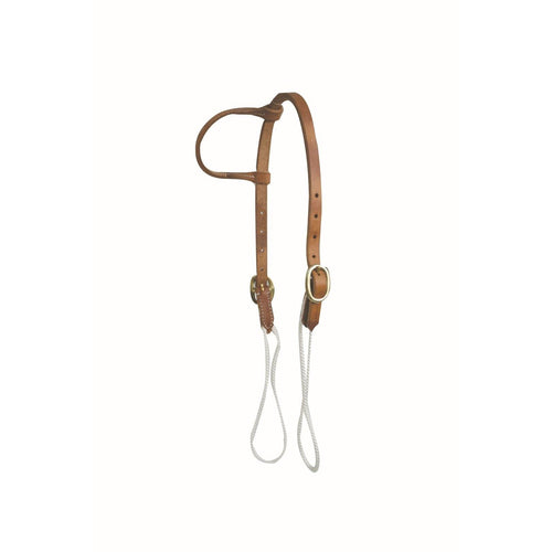 Harness Leather Sliding Cheek Ear Headstall - FG Pro Shop Inc.