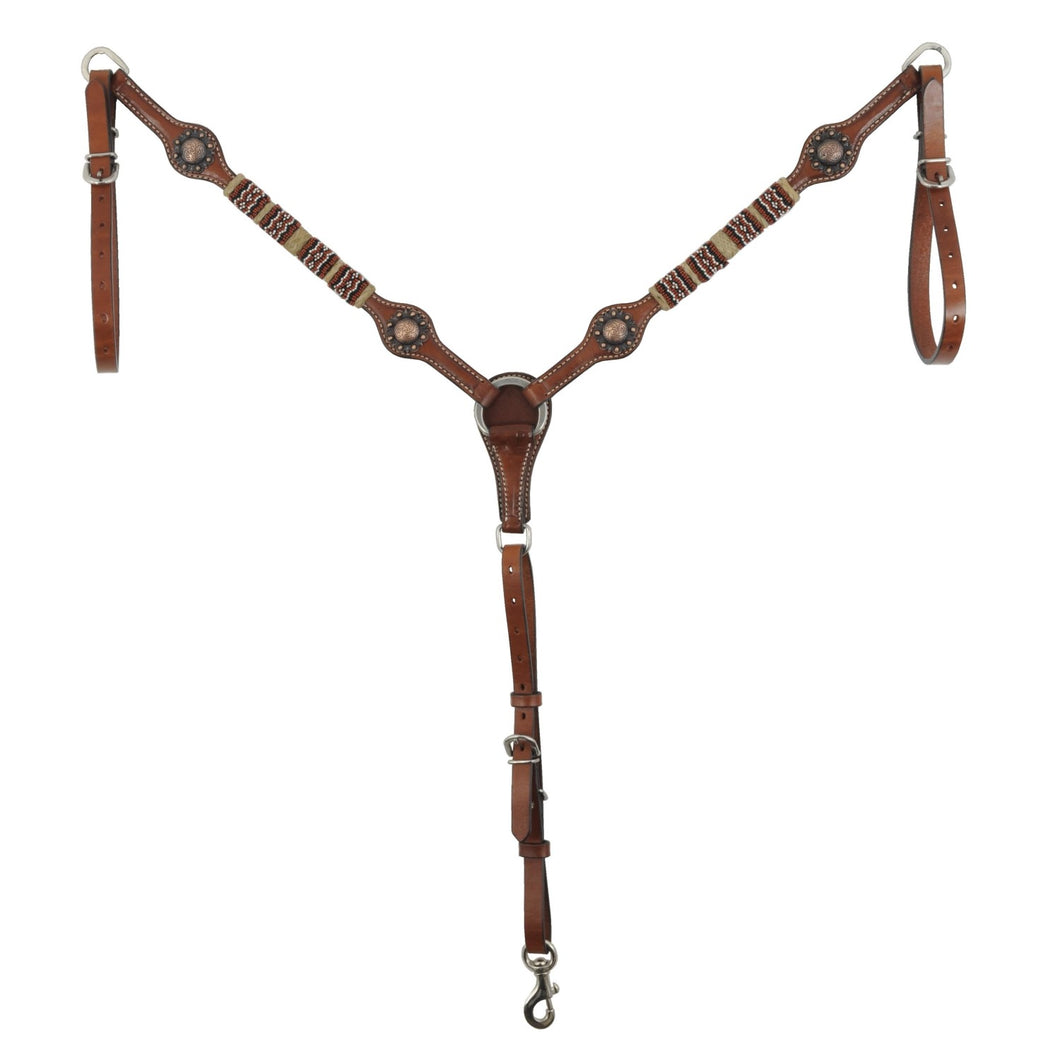 Country Legend Red Bead Breastcollar