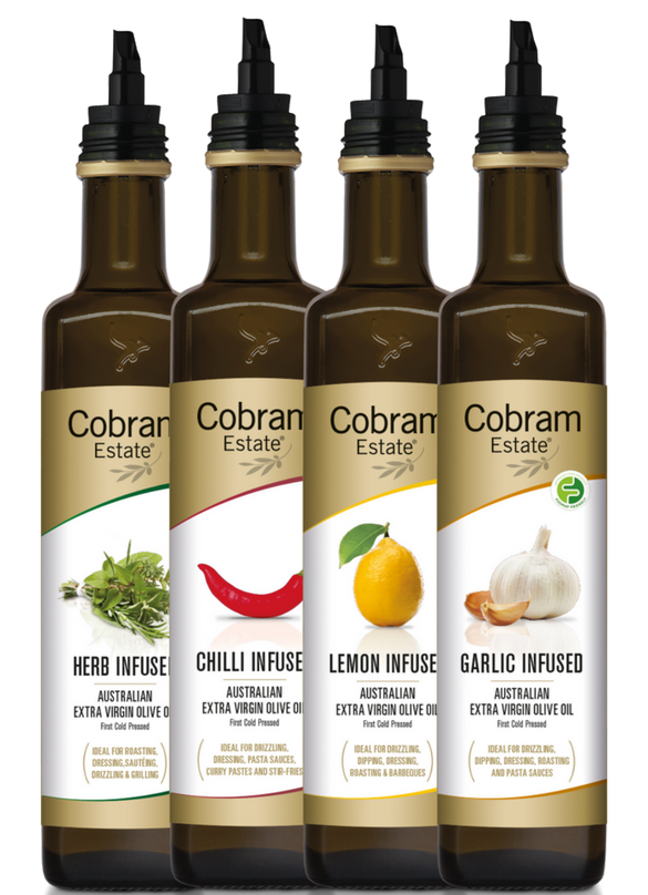 Infusions Gift Pack Extra Virgin Olive Oil