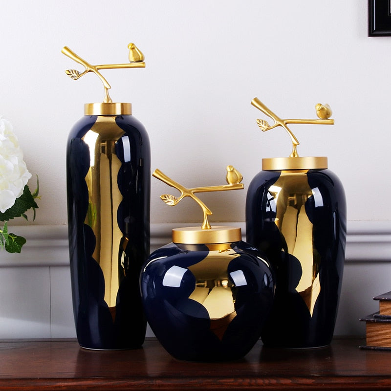 Luxury Ceramic Vase Home Decoration