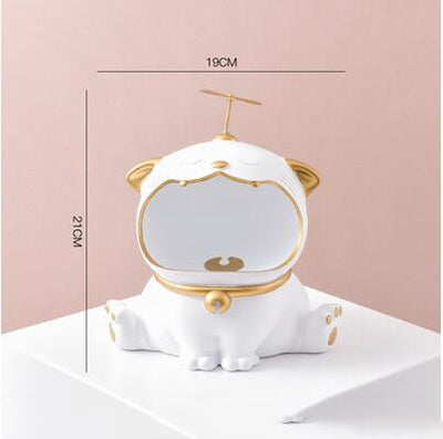 Luxury Lucky Cat Key Candy Storage Box