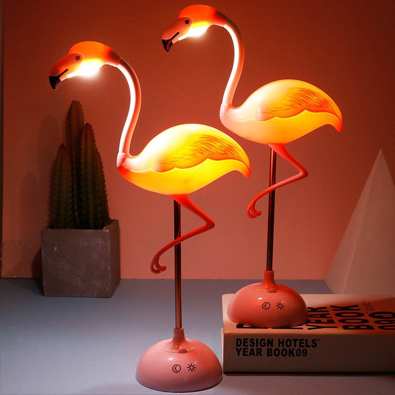 LLED Flamingo Night Light Table Lamp