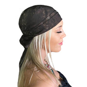 Pirate Bandana Head Scarf face mask Brown