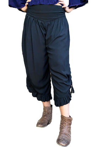 Renaissance pants with pockets black