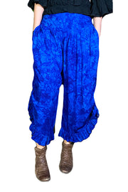 Renaissance pants with pockets Blue