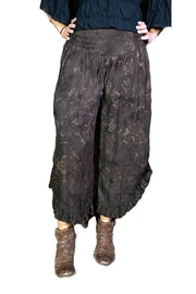 Renaissance pants with pockets Brown