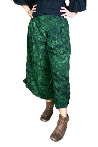 Renaissance pants with pockets Green