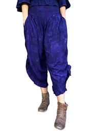 Renaissance pants with pockets Purple