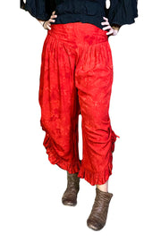 Renaissance pants with pockets red