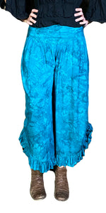 Renaissance pants with pockets Teal