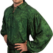 Mens Pirate shirt pirate top cotton pirate gear Green