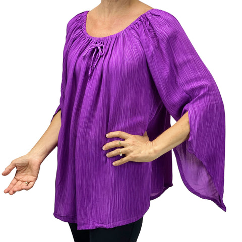 Womans renaissance top renaissance blouse Lilac