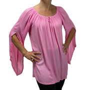 Womans renaissance top renaissance blouse pink