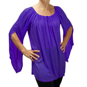 Womans renaissance top renaissance blouse Purple