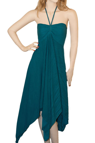 Renaissance Dress Cruisewear beach dress Teal