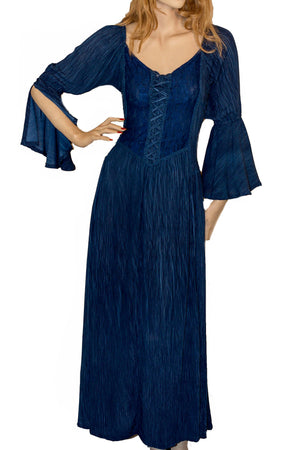 Renaissance Dress Victorian Dress Navy