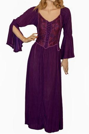 Renaissance Dress Victorian Dress Purple