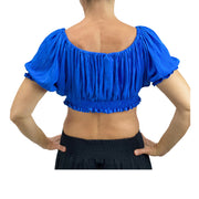 womans Renaissance Top Pirate Top short sleeve Back View