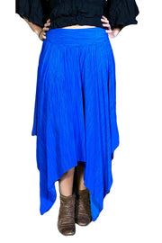 Renaissance skirt Fairy hem skirt Royal Blue