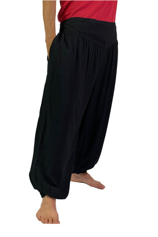 Renaissance Pants Pocket Pirate Pants men Black