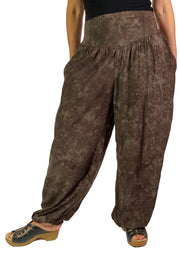 Renaissance Pants Pocket Pirate Pants Brown