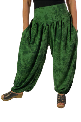 Renaissance Pants Pocket Pirate Pants Green