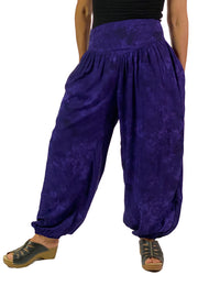 Renaissance Pants Pocket Pirate Pants Purple
