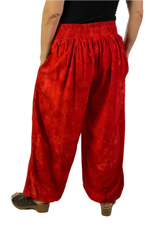 Renaissance Pants Pocket Pirate Pants Red