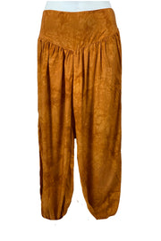 Renaissance Pants Pocket Pirate Pants Saffron