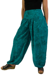 Renaissance Pants Pocket Pirate Pants Teal