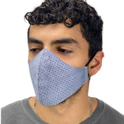 cotton masks mens Light weight masks washable Classic Gray