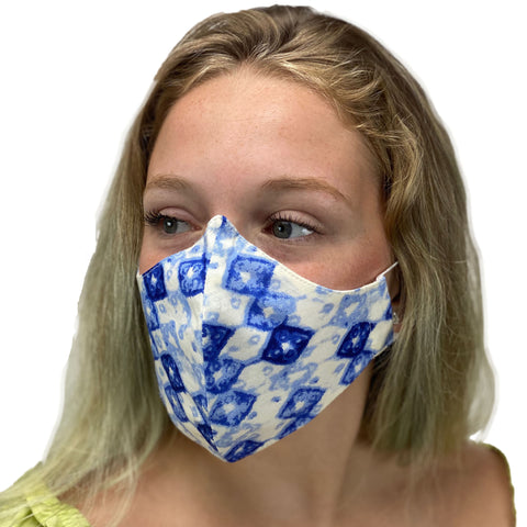 cotton masks light weight masks washable Blue