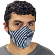 cotton masks mens Light weight masks washable Checkered