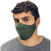 cotton masks light weight masks washable gray