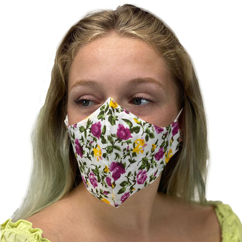 cotton masks light weight masks washable Spring Flowers