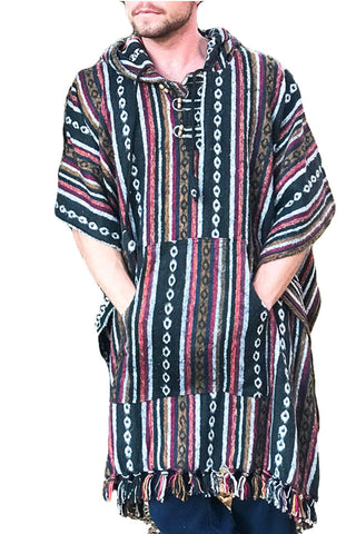 Unisex pancho one size heavy duty Wild Fox