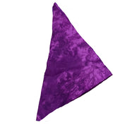 Pirate bandana head scarf face mask violet