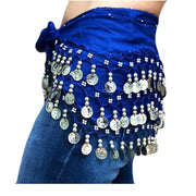Zumba Coin Scarf Belly Dance Coin belt royal