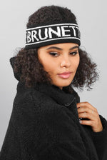 "Load image into Gallery viewer, BRUNETTE THE LABEL ""BRUNETTE"" HEADBAND"