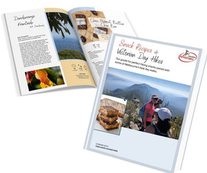 Snack Recipes and Victorian Hikes Book - DIGITAL COPY