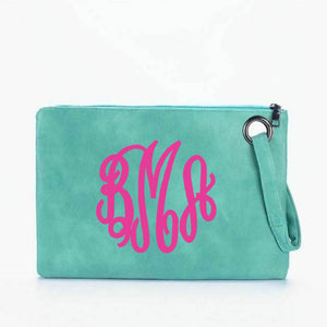 Large Clutch with Wrist Strap.