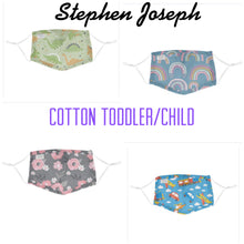 Load image into Gallery viewer, Stephen Joseph Toddler/Child Mask.