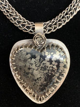 Load image into Gallery viewer, Pyrite Heart Pendant
