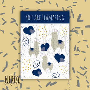 You are Llamazing | Sticker Set