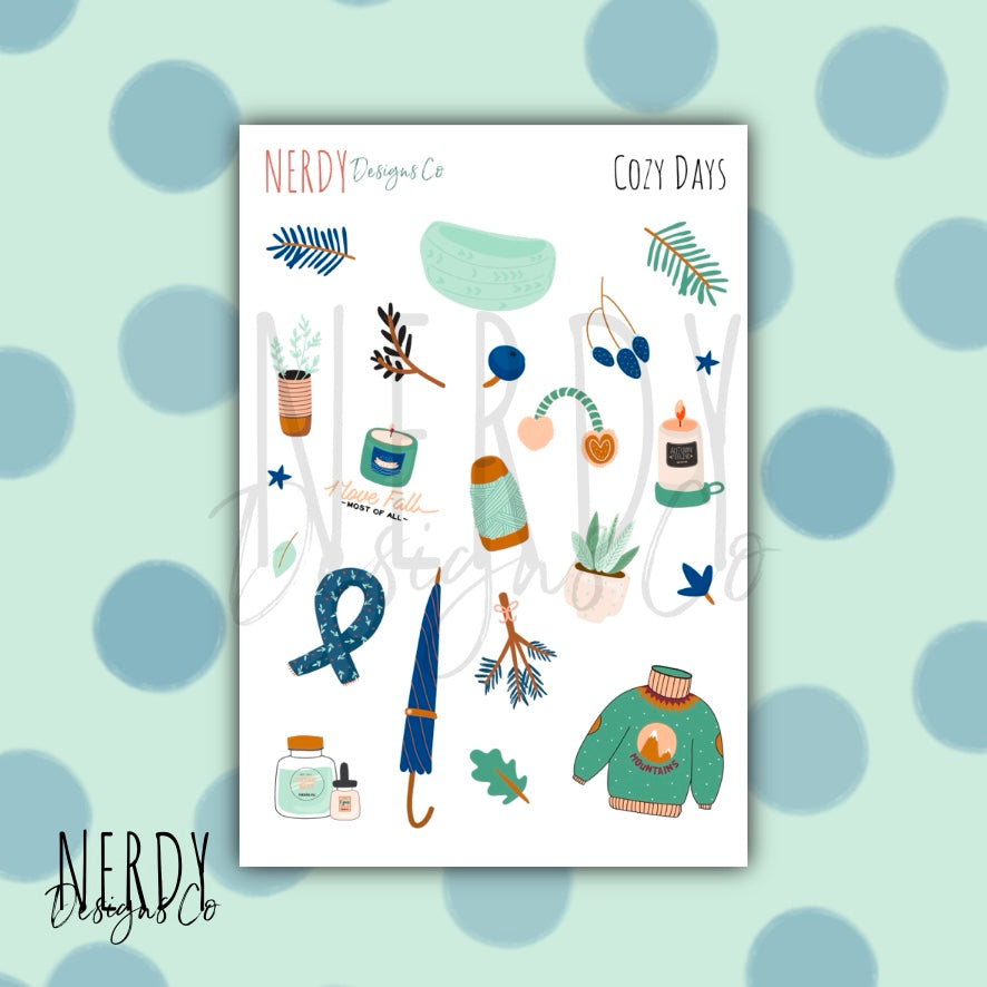 Cozy Days | Sticker Set