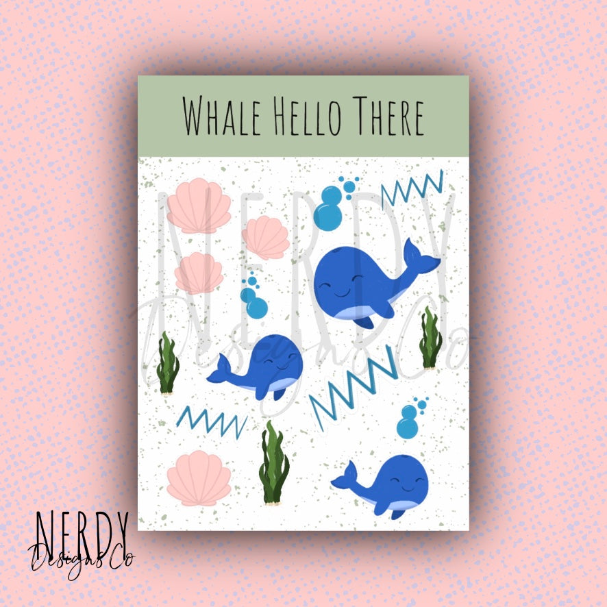 Whale Hello There | Sticker Set