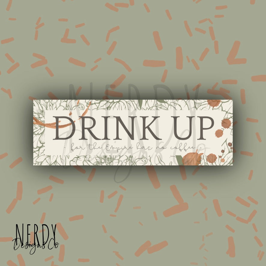 Drink Up | Bookmark
