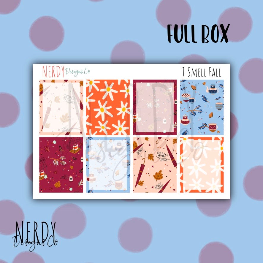 Autumn Full Box | Planner Stickers