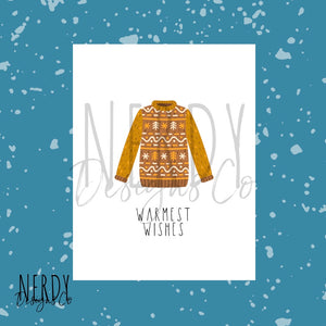 Ugly Sweaters | Card