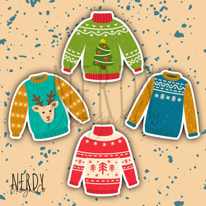 Ugly Sweater | Sticker Set